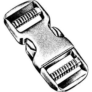 National Molding Dual plastic fastener 50 mm, 1 St. KARTE
