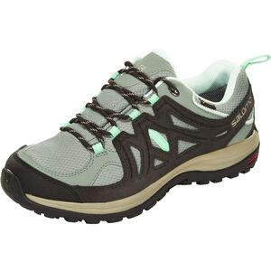 Salomon Ellipse 2 GTX Hiking Shoes Damen light tt/asphalt/jade green light tt/asphalt/jade green