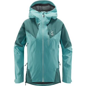 Haglöfs L.I.M Touring Proof Jacke Damen glacier green/willow green  glacier green/willow green