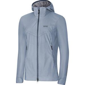 GORE WEAR H5 Windstopper Insulated Hooded Jacket Damen cloudy blue/deep water blue cloudy blue/deep water blue