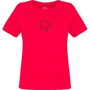Norrøna /29 Viking Baumwoll T-Shirt Damen crisp ruby crisp ruby
