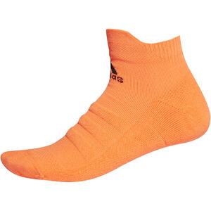 adidas Alphaskin Ankle Lightweight Socks Herren solar orange/black solar orange/black