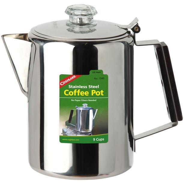 Coghlans Coffee Pot Edelstahlkanne 9 Tassen