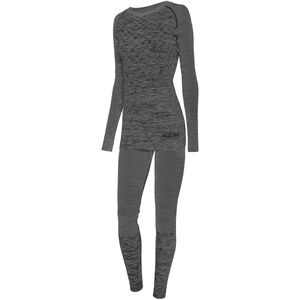 Viking Europe Petra Bamboo Unterwäsche Set Damen dark grey dark grey