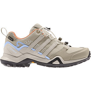adidas TERREX Swift R2 GTX Outdoor Shoes Damen trace khaki/collegiate brown/glossy blue trace khaki/collegiate brown/glossy blue