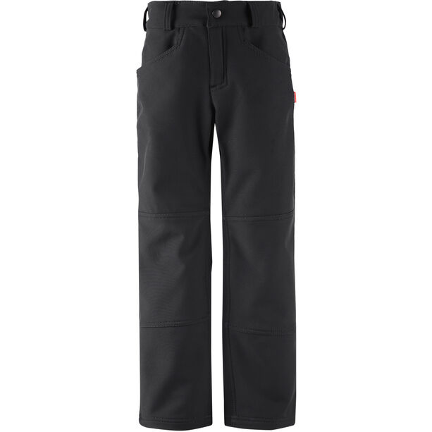 Reima Mighty Softshell Hose Kinder black