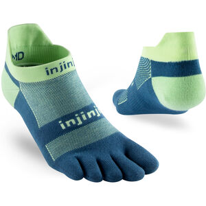 Injinji Run Xtralife Lightweight No Show Socken Herren seafoam seafoam