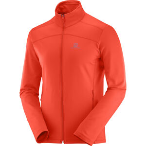 Salomon Discovery LT FZ Jacket Herren cherry to cherry to