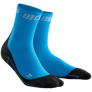 cep Winter Short Socks Herren electric blue/black electric blue/black
