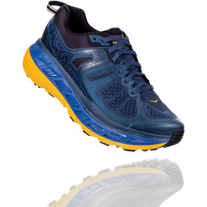 Hoka One One Stinson ATR 5 Laufschuhe Herren moonlight ocean/old gold moonlight ocean/old gold