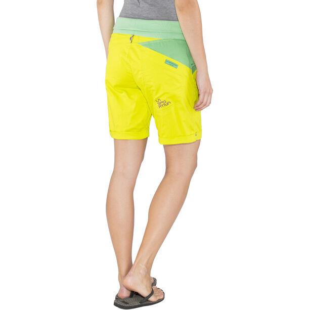 La Sportiva Ramp Shorts Damen apple green/jade green