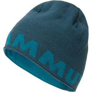Mammut Logo Beanie wing teal-sapphire wing teal-sapphire