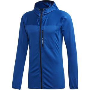 adidas TERREX TraceRocker Hooded Fleece Jacket Herren collegiate royal collegiate royal