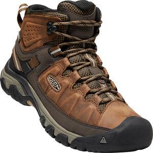 Keen Targhee III Mid WP Shoes Herren big ben/golden brown