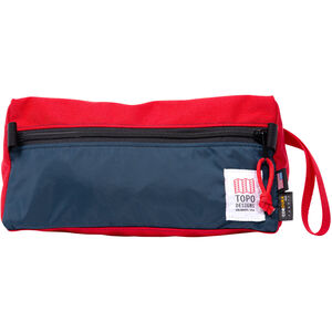 Topo Designs Dopp Kit red/navy red/navy