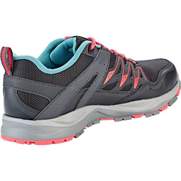 Columbia Wayfinder Outdry Schuhe Damen black/red coral