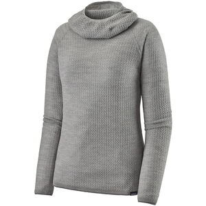 Patagonia Capilene Air Hoody Damen feather grey/birch white x-dye feather grey/birch white x-dye
