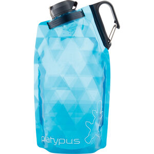 Platypus DuoLock SoftBottle 750ml blue prisms blue prisms
