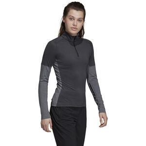 adidas TERREX Xperior Langarm T-Shirt Damen carbon/dark grey heather carbon/dark grey heather