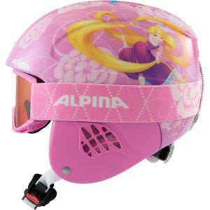 Alpina Carat Set Disney Helm Kinder Rapunzel Rapunzel