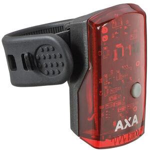 Axa 1 LED Akku-Rücklicht inkl USB Kabel schwarz schwarz