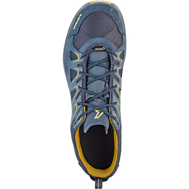 Lowa Innox Evo GTX Low Shoes Herren steel blue/mustard