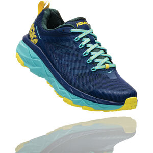 Hoka One One Challenger ATR 5 Running Shoes Damen medieval blue/mallard green medieval blue/mallard green
