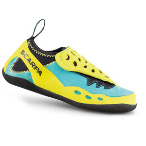Scarpa Piki J Climbing Shoes Kinder maledive/yellow maledive/yellow