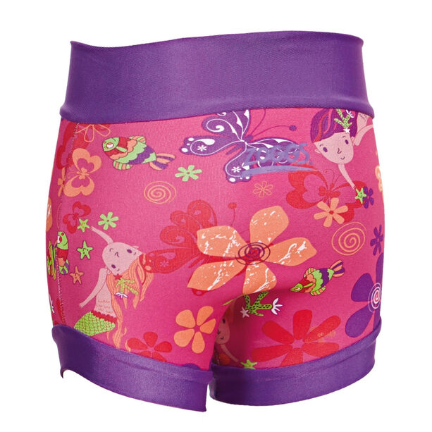 Zoggs Mermaid Flower Swimsure Baby Nappy Kinder pink/multi