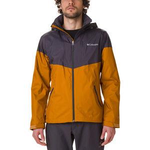 Columbia Inner Limits Jacket Herren burnished amber/shark burnished amber/shark