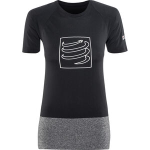 Compressport Training T-Shirt Damen black black