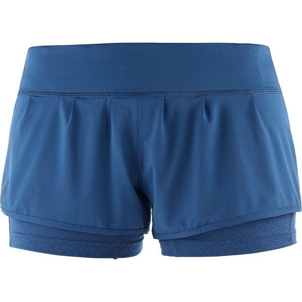 Salomon Elevate Aero Shorts Damen poseidon