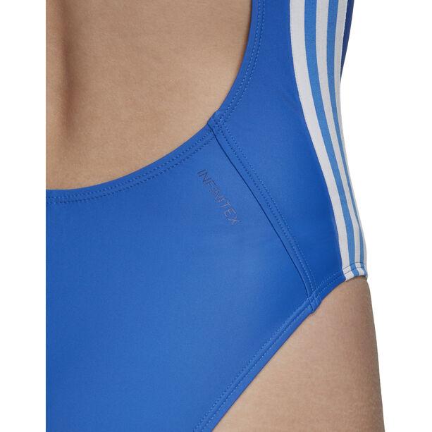 adidas Fit 3-Stripes Swimsuit Damen blue