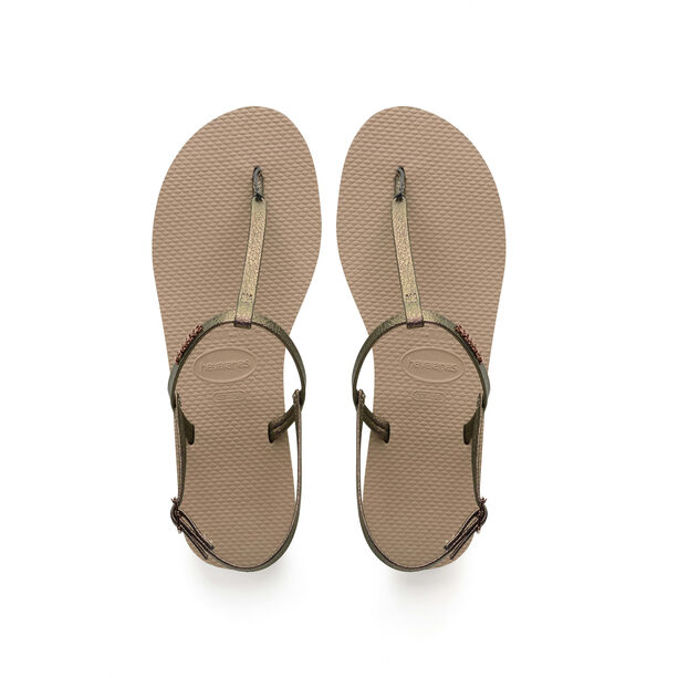 havaianas You Riviera Sandals Damen rose gold