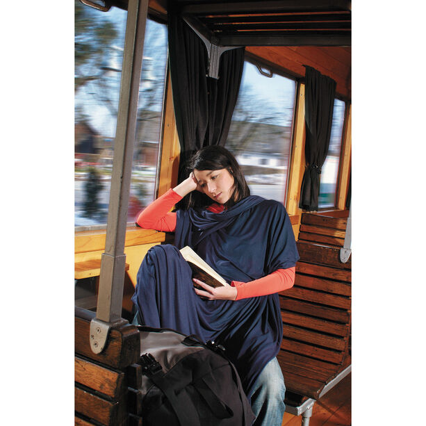 Cocoon Travel Blanket CoolMax navy