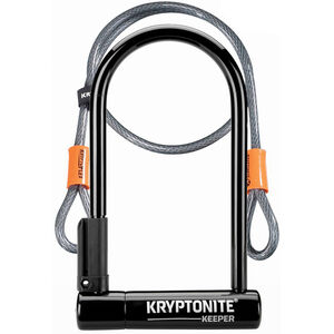 Kryptonite Keeper Standard + Kflex Bügelschloss 120cm