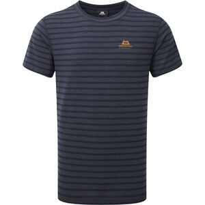 Mountain Equipment Groundup Tee Herren cosmos stripe cosmos stripe