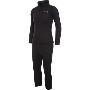 Viking Europe Arctis Polartec Fleece Unterwäsche Set Kinder black black