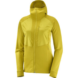 Salomon Grid FZ Midlayer Damen golden pa golden pa