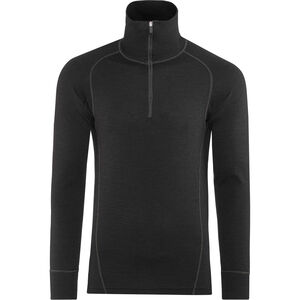 Devold Duo Active Zip Shirt Herren black black