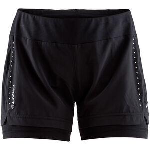 Craft Essential 2-in-1 Shorts Damen black black