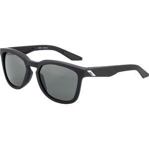 100% Hudson Smoke Glasses soft tact black soft tact black