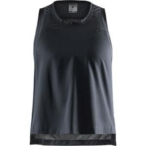 Craft UNTMD Top mit hohen Seitenschlitzen Damen black black