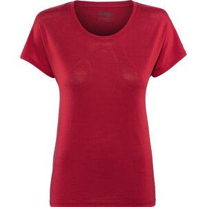 Bergans Oslo Wool Tee Damen red red