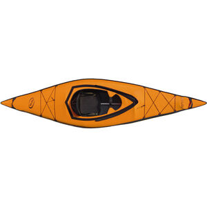 nortik scubi 1 Kajak Komplett-Set orange/schwarz