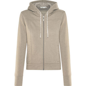 Prana Ari Zip Up Fleece Jacket Damen earth grey earth grey