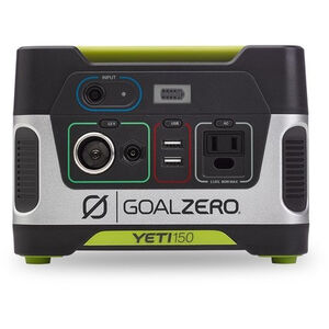 Goal Zero Yeti 150 Portable Power Station silver/black silver/black