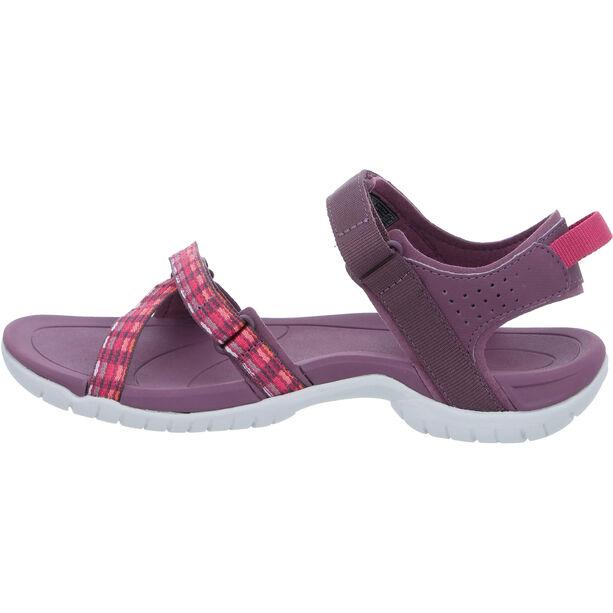 Teva Verra Sandals Damen modern stripes purple