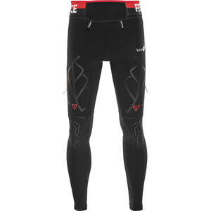 KiWAMi Equilibrium Trail Full Tights black/red black/red