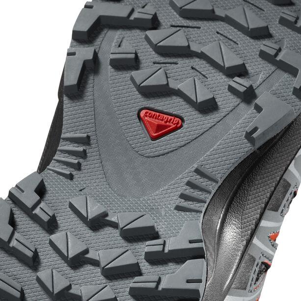 Salomon XA Pro 3D Mid CSWP Shoes Kinder black/stormy weather/cherry tomato